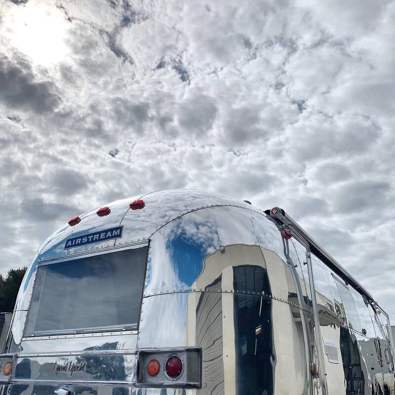 Ceramic Coating on Airstreams, California